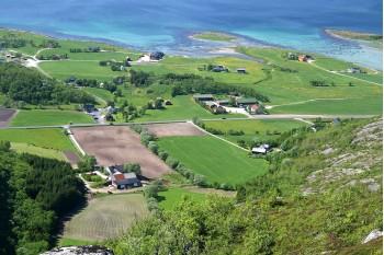 Farms on Trælnes