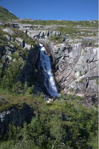 Bjørnstokkfossen Foto: Gunnar E Nilsen