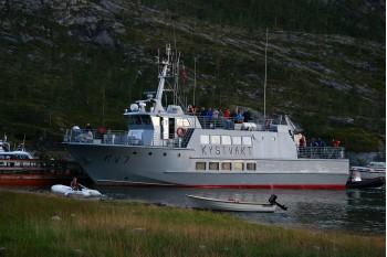 Fra Sjøbergmarsjen (Austerfjorden) Foto: G E Nilsen