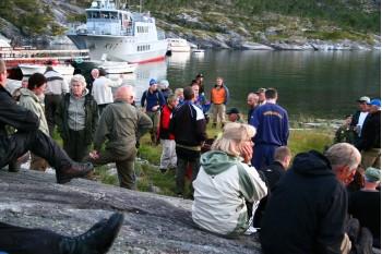 Sjøbergmarsjen (Austerfjorden) Foto: G E Nilsen