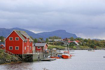 Brygge i Salhussundet