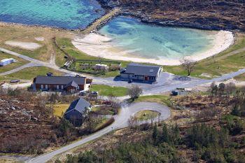 Utendørs havbasseng - Torghatten Camping