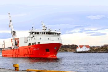 M.S Svealand ank. Brønnøysund havn
